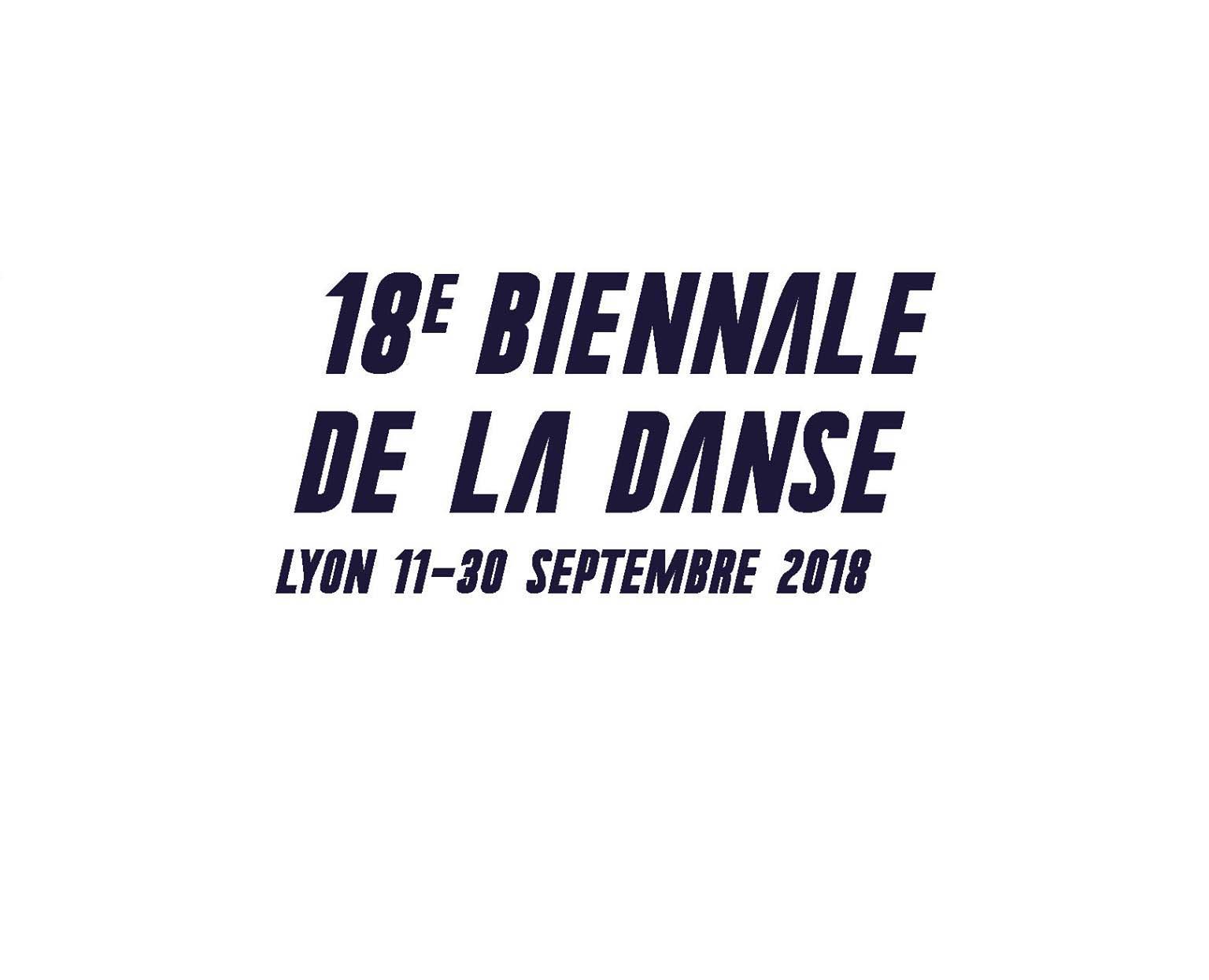 Biennale de la Danse 2018