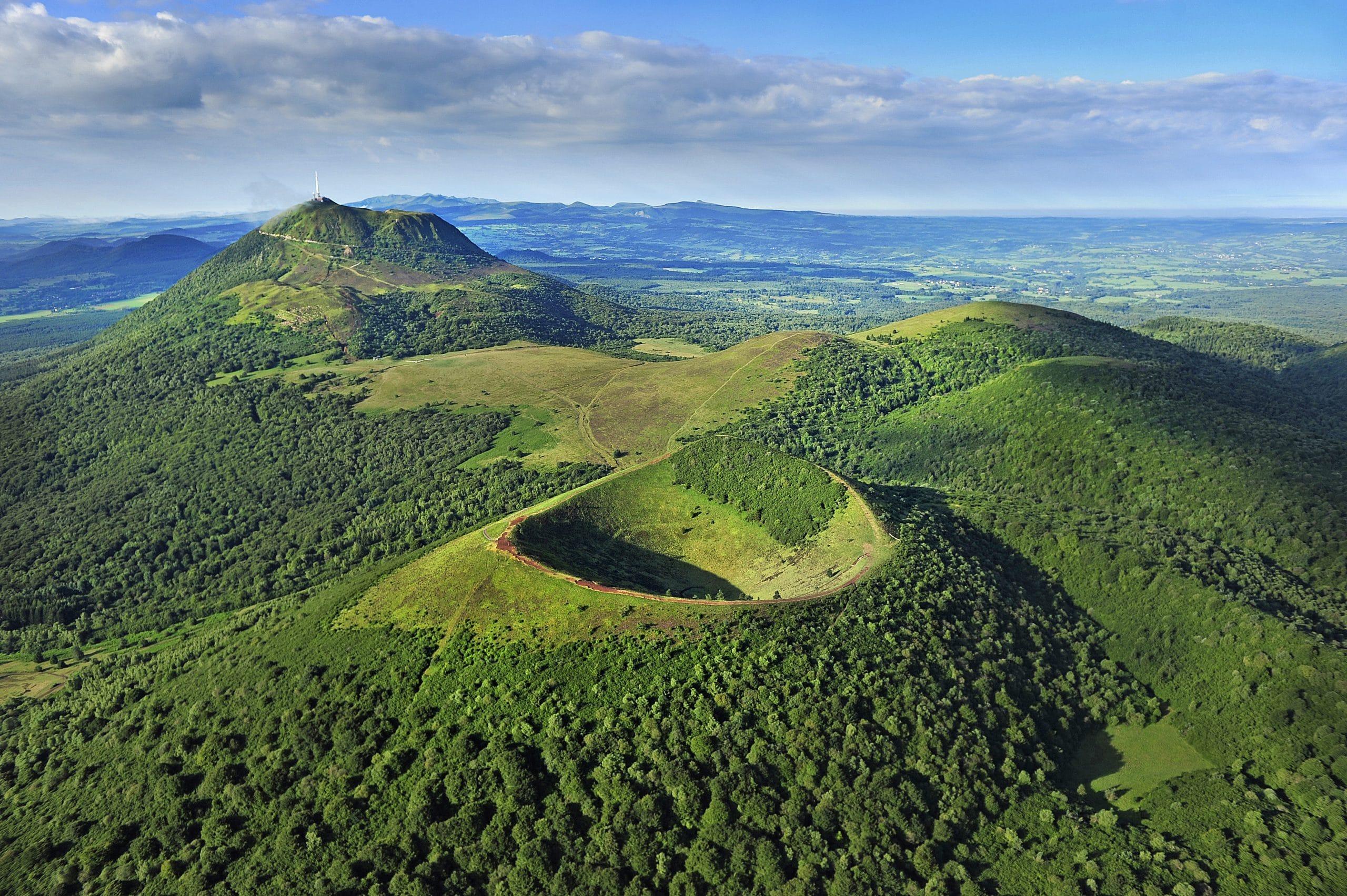 The Chaîne des Puys joins the Unesco World Heritage List