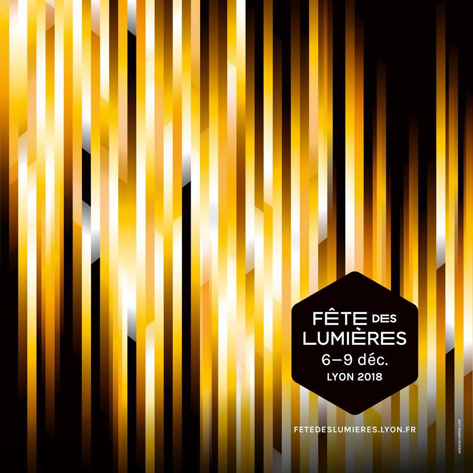 Festival of Lights 2018 in Lyon