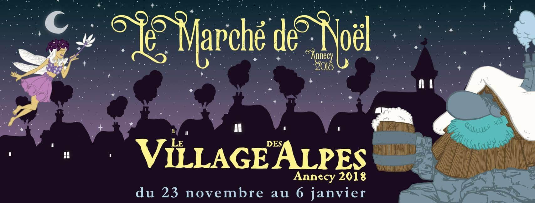 Marché de Noël d'Annecy