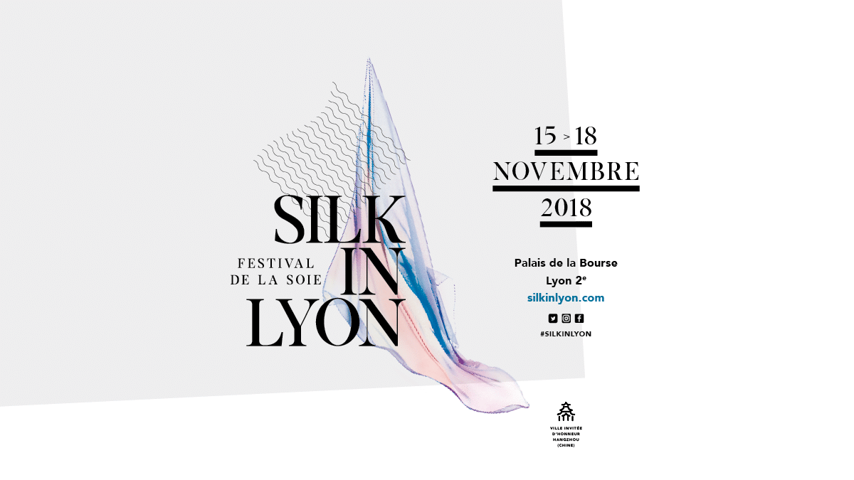 Silk in Lyon, the silk festival
