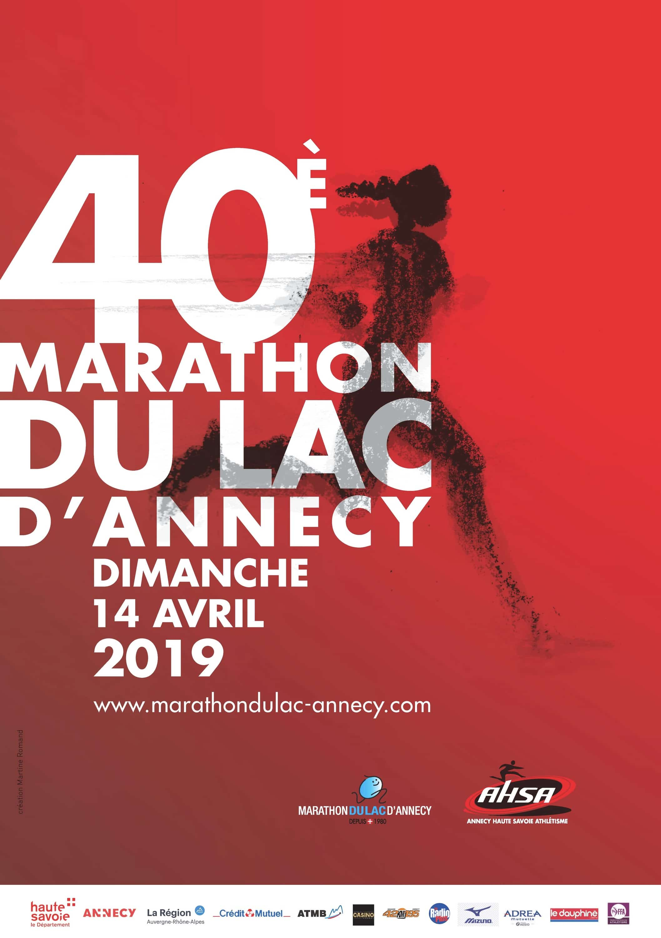 Marathon and half-marathon of Annecy Lake