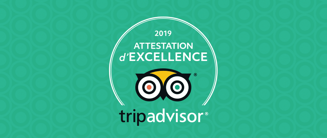Privilodges Carré de Jaude*** reçoit l'Attestation d'Excellence Tripadvisor !