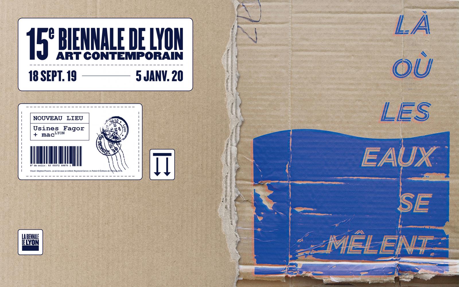 Lyon's 15th biennial contemporary art event