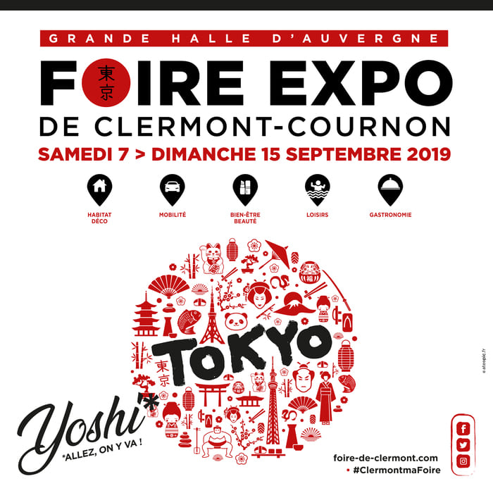 Foire Internationale de Clermont-Cournon