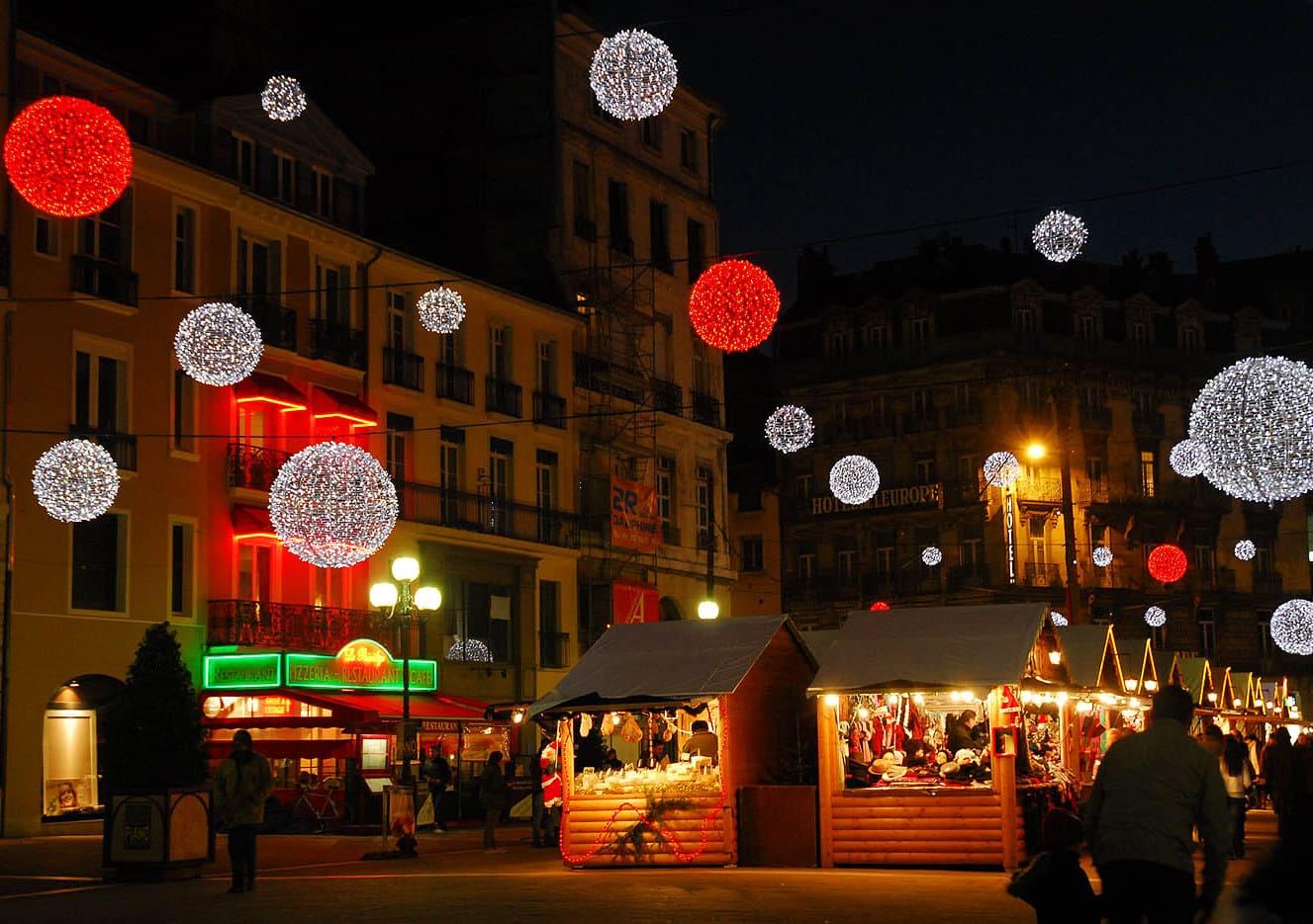 Marchés de Noël de Grenoble 2019